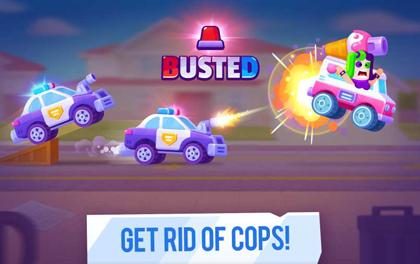 疯狂碰撞赛车2021