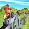 青山摩托车特技赛车