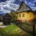 美丽的乡村小屋逃离